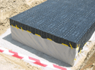 Дренаж GRAF дренажный блок укладка GRAF-CI.RU (увеличить)