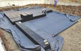 Построение дренажной системы дренажный блок GRAF-CI.RU (увеличить)