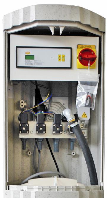 Блок управления очистной станцией Klaro, очистная система GRAF-CI.RU (увеличить)