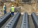 Укладка дренажных тоннелей GRAF-CI.RU (увеличить)