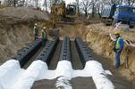 GRAF 300 тоннель дренажный укладка GRAF-CI.RU (увеличить)