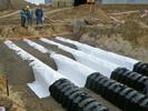 Дренажный тоннель GRAF канализация дачи очистка сточных вод GRAF-CI.RU (увеличить)